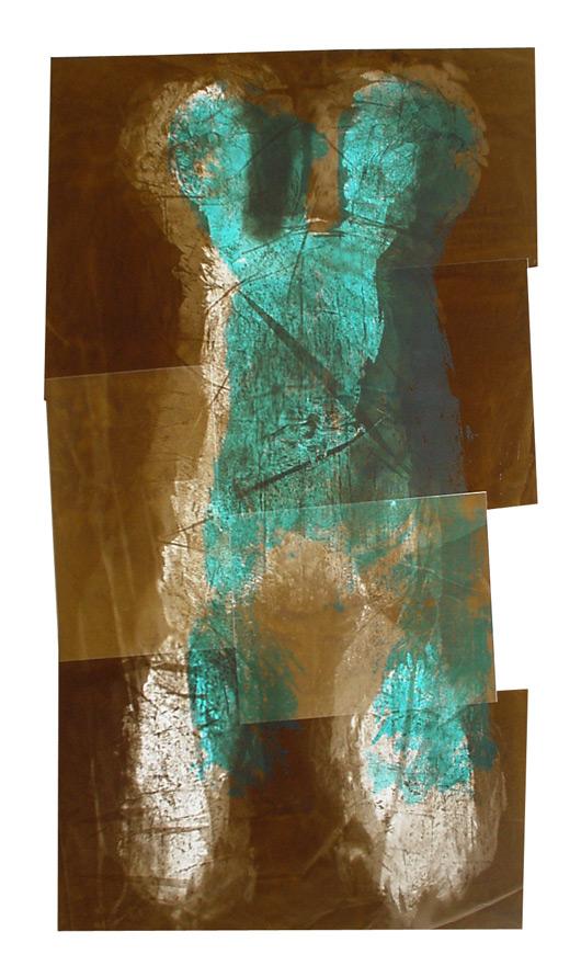 Fotogramm / Körperfotogramm von Henrike Kreck, Fotokunst aus dem Saarland!