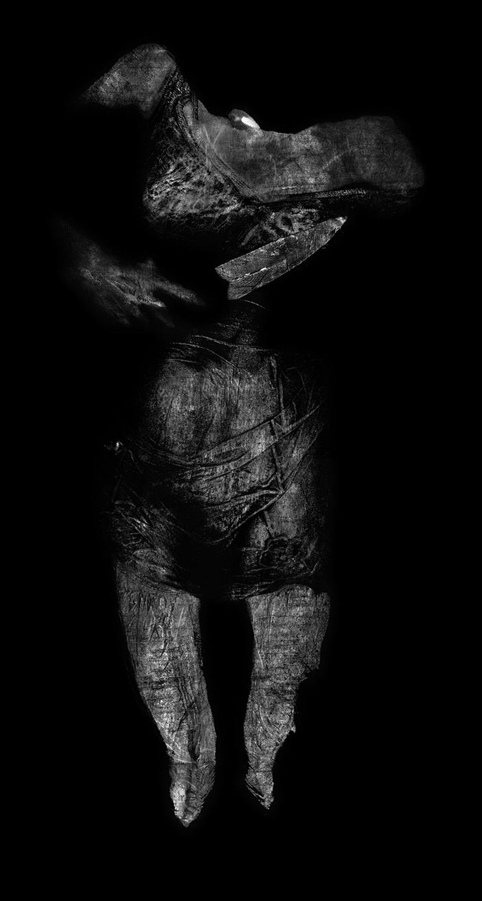 Henrike Kreck - Indirekte Körperfotogramme, 2003