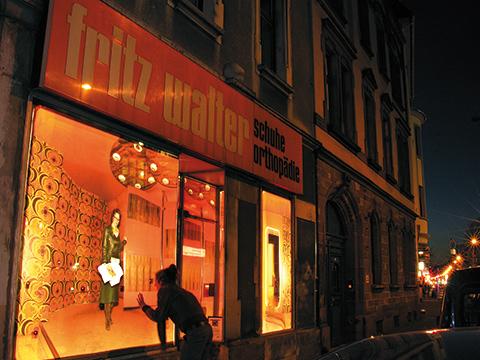 Henrike Kreck - Medienkunst & Fotokunst: Das inszenierte Fenster in der nächtlichen Stadt
